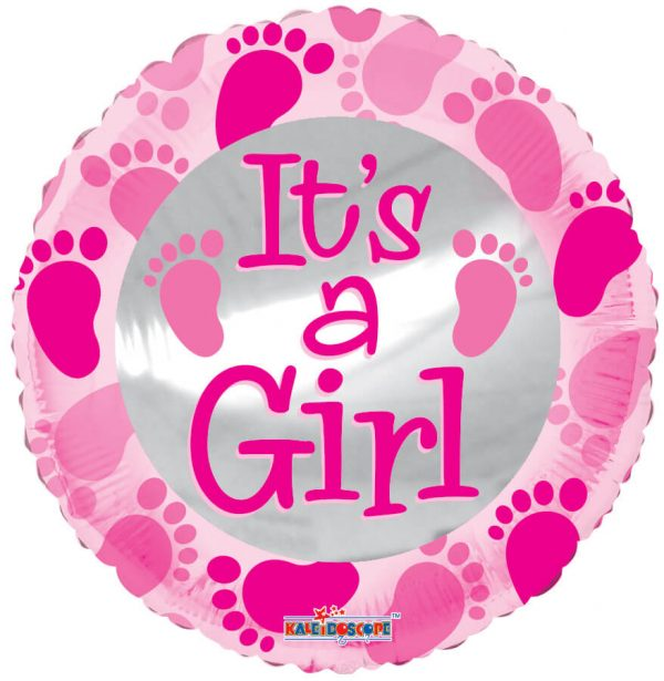 Globo Mylar It's a Girl