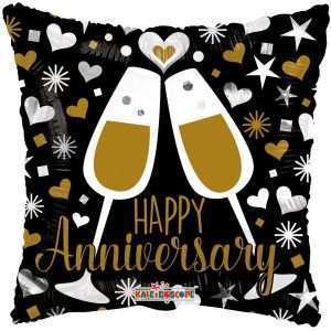 Globo Mylar Happy Anniversary