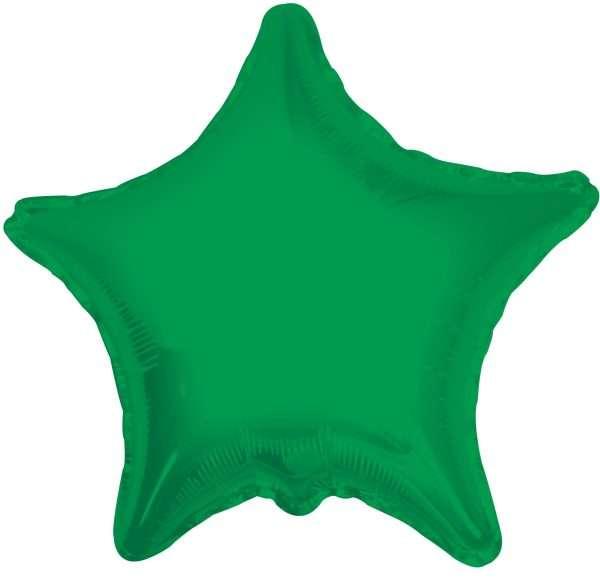 Globo Mylar Estrella Verde