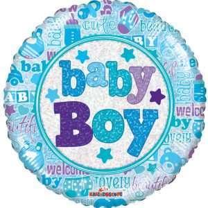 Globo Mylar Baby Boy