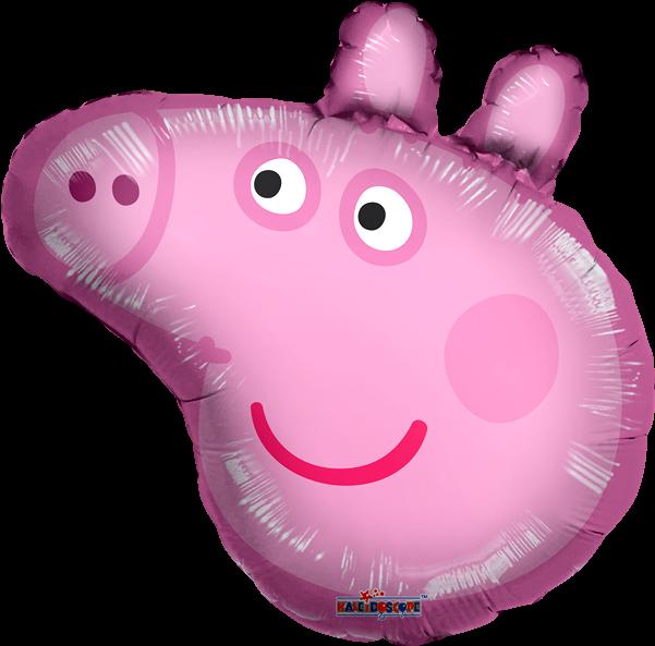Globo Mylar Cabeza Peppa Pig
