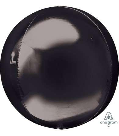 Globo Mylar Orbz Negro