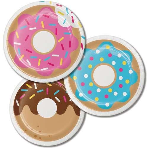 Platos de Carton de Donut
