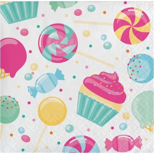 Servilletas de Candyland