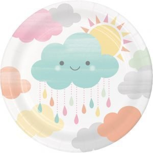 Plato de Carton de Nubes