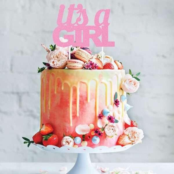 Cake Topper Baby Girl