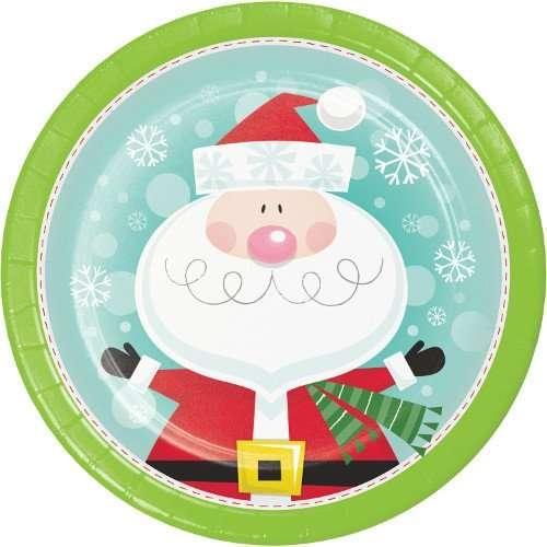 Plato de Cartón Characters of Christmas