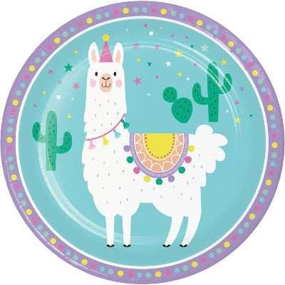 Plato de Llama