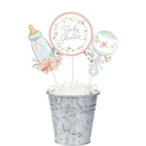 Centro de Mesa de Baby Shower