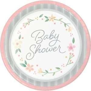 Plato de Carton Baby Shower