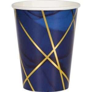 Vaso de Cartón Blue Gold