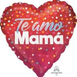 Globo Mylar Te Amo Mama