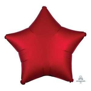 Globo Mylar Satin Rojo