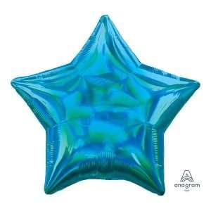 Globo Mylar Azul Iridicente