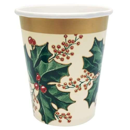 Vaso de Cartón Winter Holly