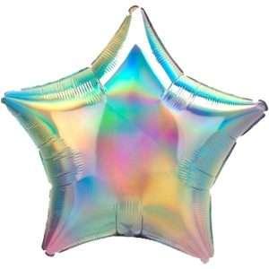 Estrella Iridiscente Multicolor