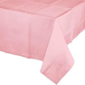 Mantel de Plástico Rosado