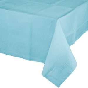 Mantel de Plástico Azul Celeste