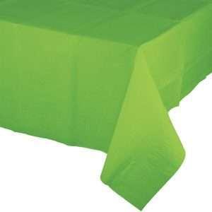 Mantel de Plástico Verde Lima