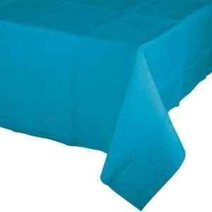 Mantel de Plástico Azul Caribe
