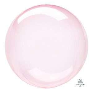 Globo Mylar Burbuja Rosado Oscuro