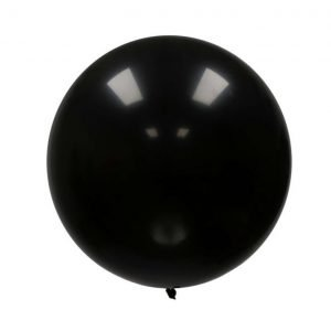 Globo Gigante Negro Decorativo