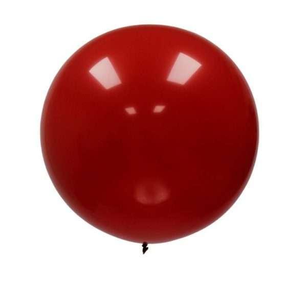 Globo Gigante Rojo Cereza Decorativo