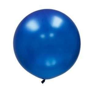 Globo Gigante Azul Metálico
