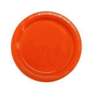 Plato Plástico Naranja