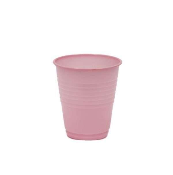 Vaso Plástico Rosado
