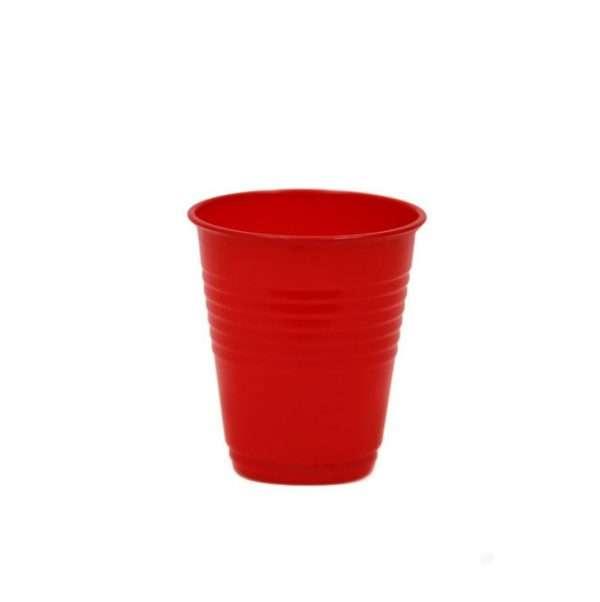 Vaso Plástico Rojo