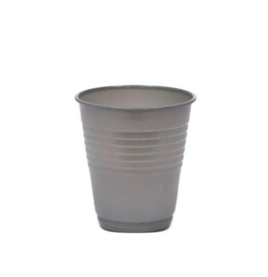 Vaso Plástico Gris