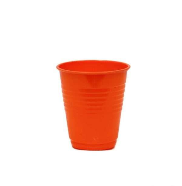 Vaso Plástico Naranja