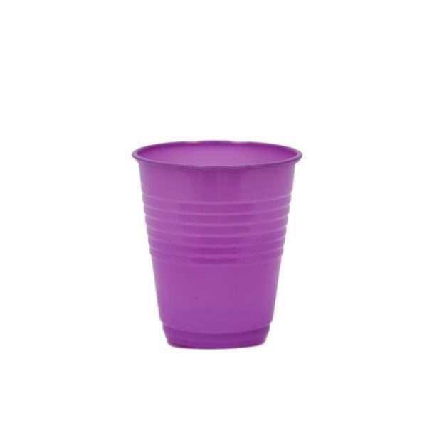 Vaso Plástico Morado