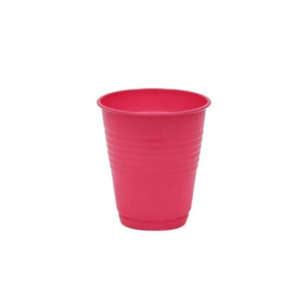 Vaso Plástico Fucsia