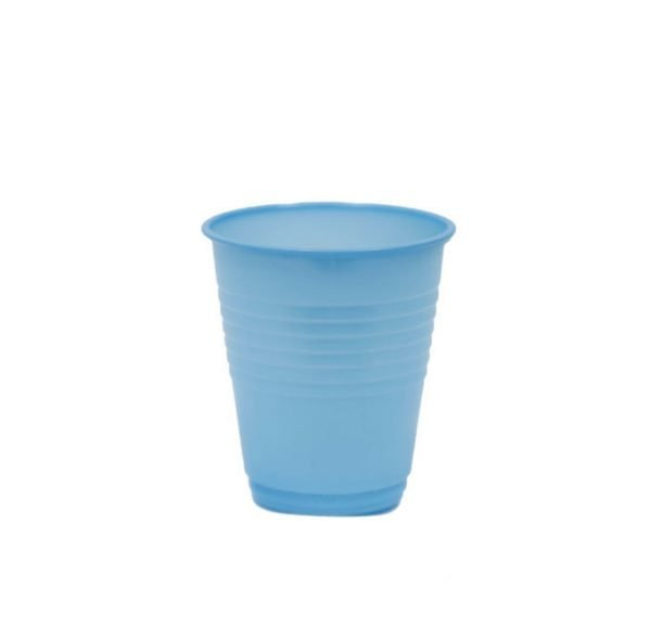 Vaso Plástico Azul Celeste
