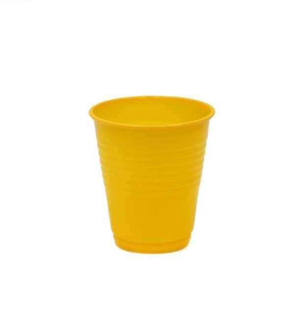 Vaso Plástico Amarillo