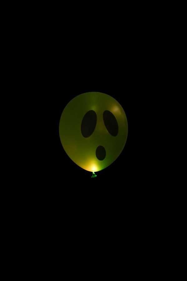 Globo Con Luz Fantasma