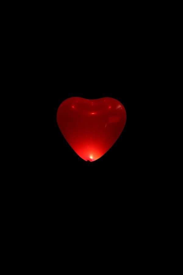 Globo Con Luz Corazón