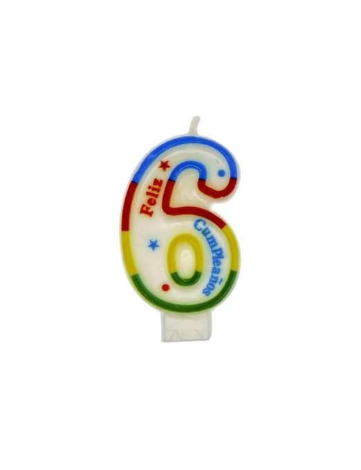 Vela Multicolor 6