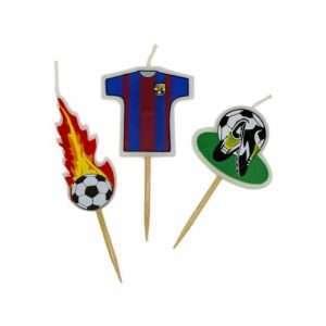 Velas de Futbol Barca