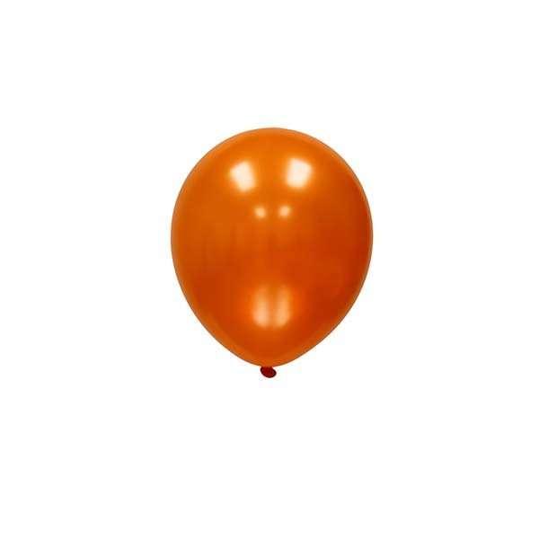 Globo Naranja Metálico