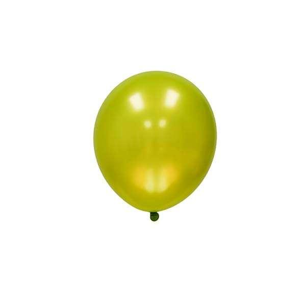 Globo Mini Verde Manzana Metalico
