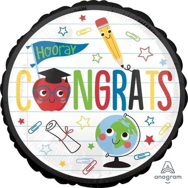 Globo Mylar Congrats