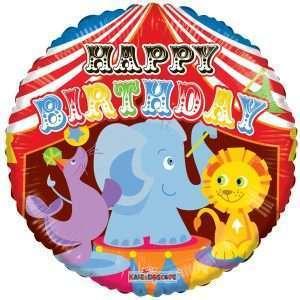 Globo Mylar Circus Birthday