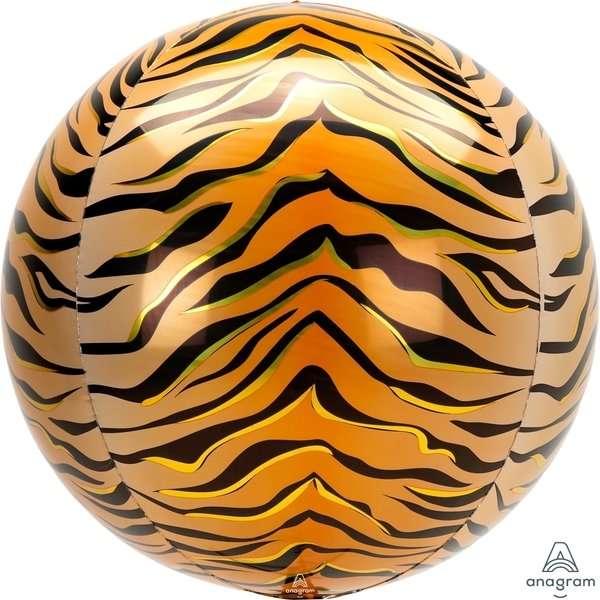 Globo Mylar Orbz Tigre