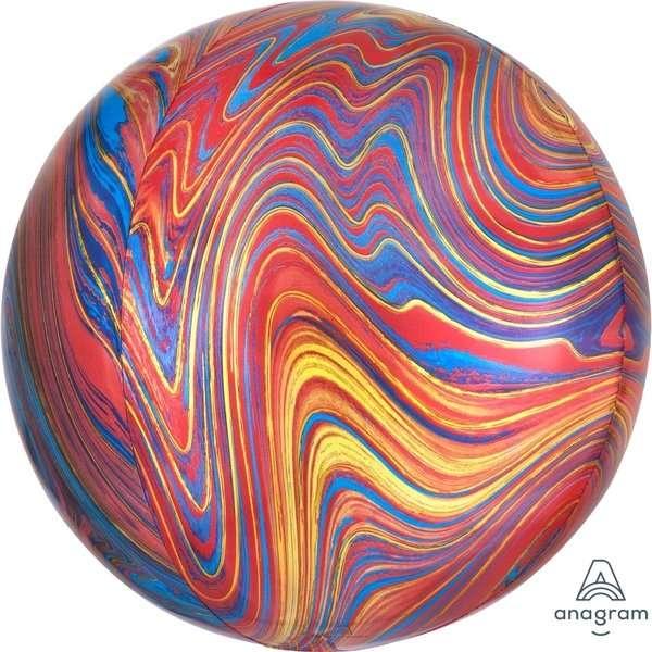 Globo Orbz Red Marble