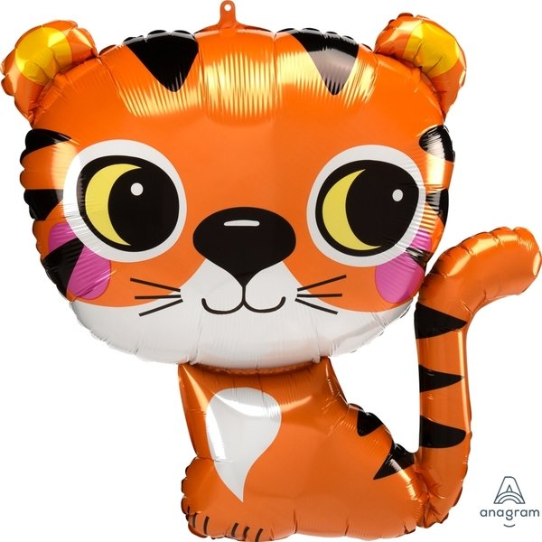 Globo Mylar Tigre