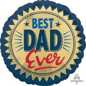 Globo Mylar Best Dad Ever