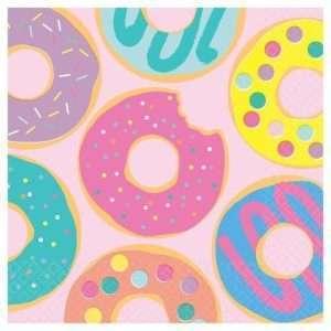 Servilletas de Donut Rosadas